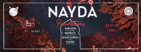 Soirée de présentations le 20 janvier au Petit Bain pour l'association Nayda: carrefour des influences parisiennes etorientales