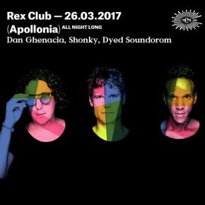 [Concours Rex Club] Soirée Apollonia all Night Long le 26 mars(1×2)
