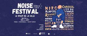 Trois jours de rencontres culturelles au Noise Festival les 30, 31 mars et 1er avril 2017 à Paris, Montreuil et StDenis